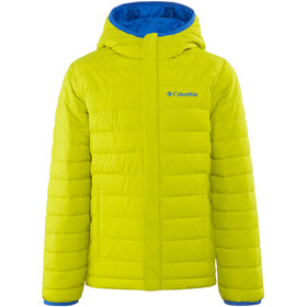 Columbia Powder Lite Puffer Boys Ginkgo/Super Blue
